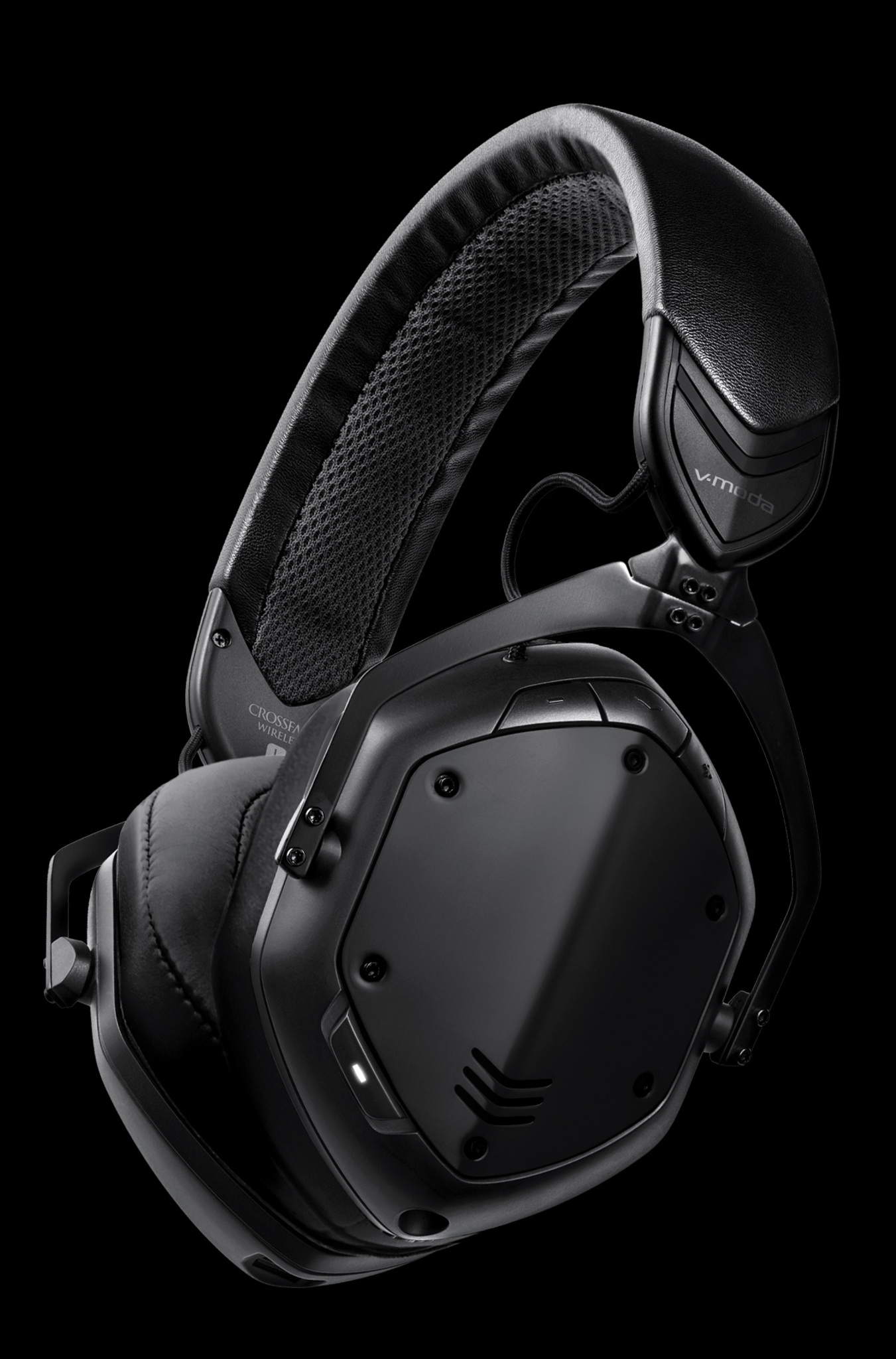 Crossfade 2 Wireless Codex Edition Over-Ear Bluetooth Headphones in Matte Black
