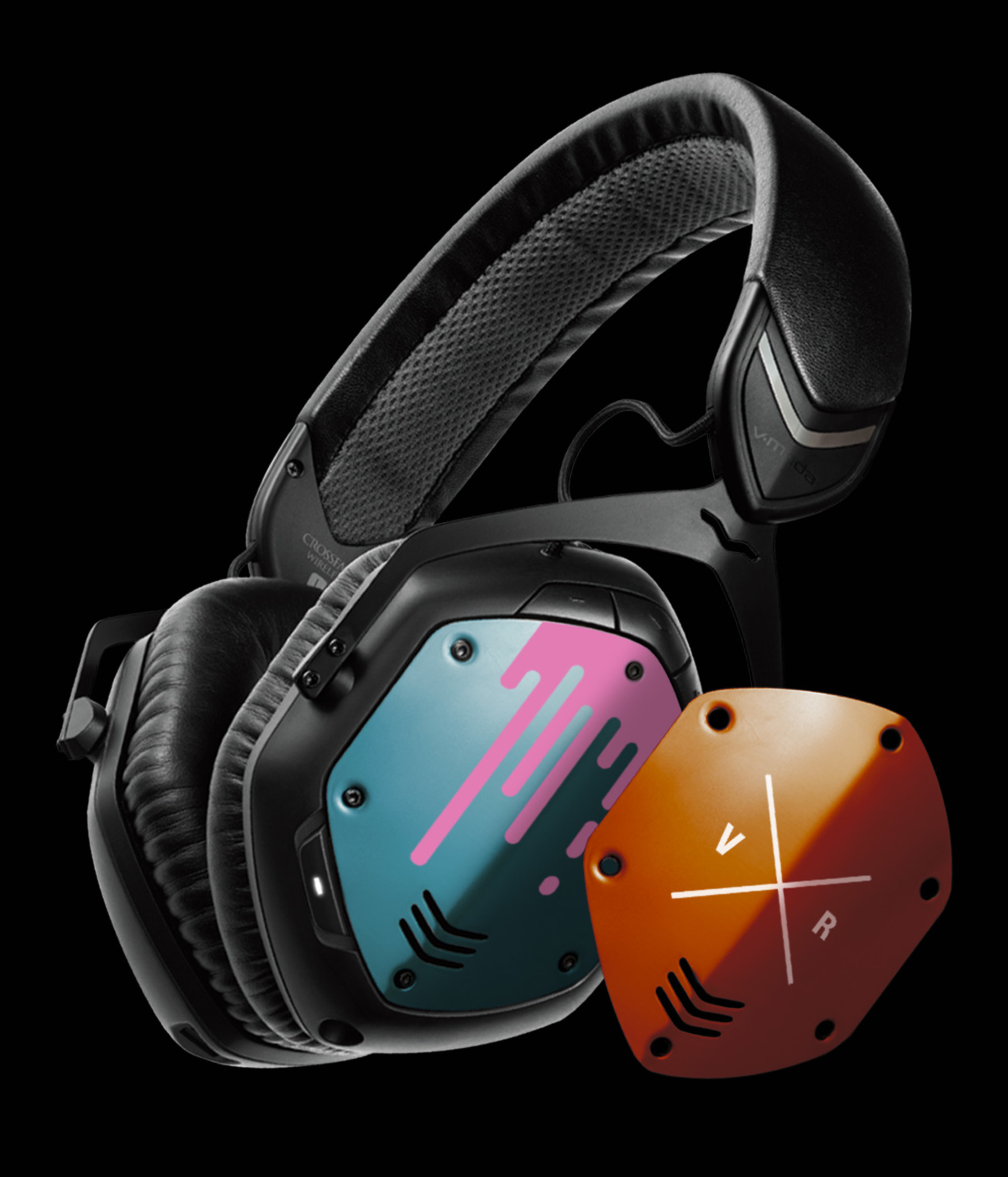 Crossfade Wireless with custom shields