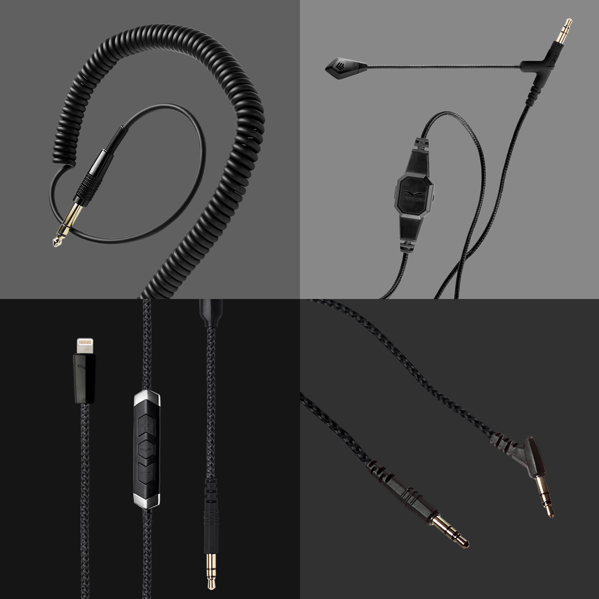 Optional extra cables for the Crossfade M-100 Master