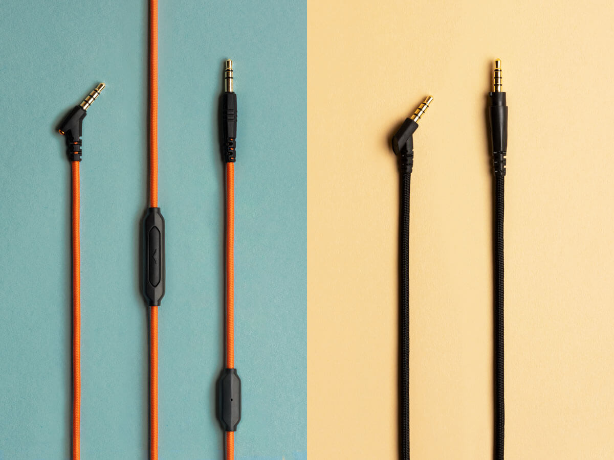 Orange SpeakEasy 1-Button Cable with Microphone and Single-Sided Balanced Cable