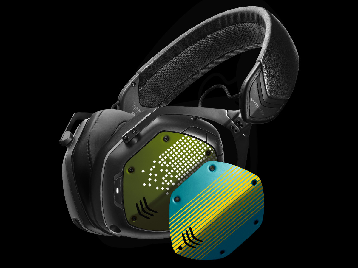 Crossfade 2 Wireless with custom shields